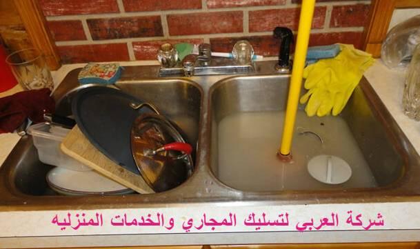 طرق تسليك أحواض المنازل