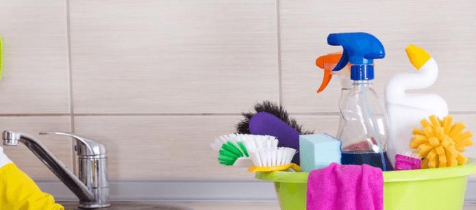 تنظيف المنزل في خطوات